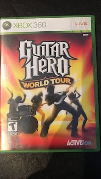 Guitar hero world tour xbox 360 game preowned