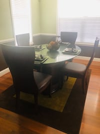 4Chair Dining Room Set White Plains, 20695