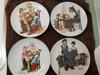 FOUR COLLECTIBLE ROCKWELL PLATES*