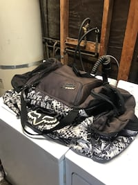 Fox riding duffel bag