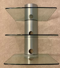 stainless steel and glass 3-layer rack Frederick, 21704