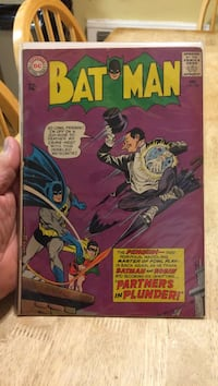 Dc comics batman comic book
