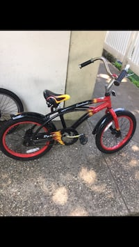 red and black BMX bike New Rochelle, 10805