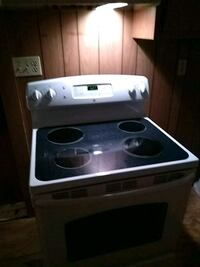 white and black electric coil range oven New Port Richey, 34652
