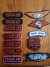 Port Dover sew-on patches