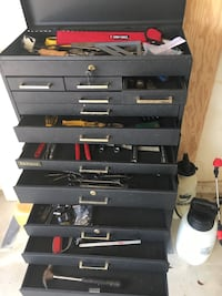 Black and red tool chest Cape Coral, 33904