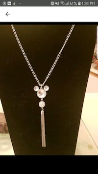 Gorgeous crystal Mickey necklace  Whitby, L1N 8X2