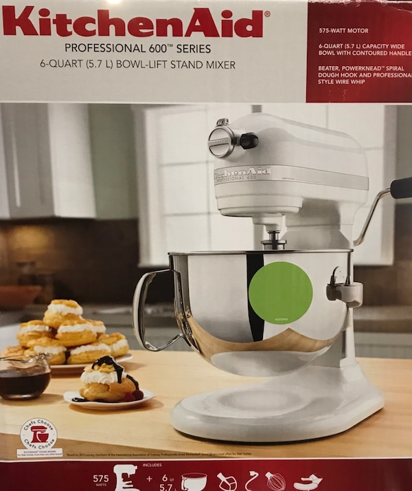 KitchenAid Professional 600 Series 6Qt Green Apple Bowl-lift Stand