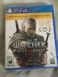 The Witcher 3 Complete Edition PS4  Langley, V2Y 1B5
