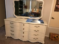 White wooden dresser with mirror San Antonio, 78217