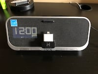 iHome alarm clock / iPhone charger $60 Mississauga, L5N 6Z2