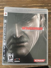 Ps3 Metal Gear Solid - $10 New Westminster, V3L