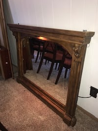 Wooden Fireplace Mantle Mirror Grand Junction, 81507