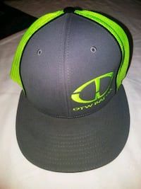 black and green fitted cap Ferris, 75125