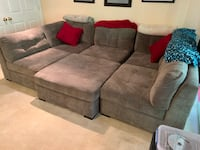 6 piece pit couch & ottoman Alexandria, 22315