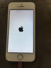 iPhone 5s silver Boost Mobile