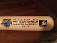 1992 All Star Game Bat (Serial numbered/with case)