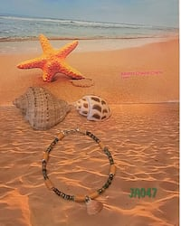 Sea Shell Anklet  Ilion, 13357