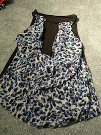 brown and blue leopard skin print halter top Butler County, 45044