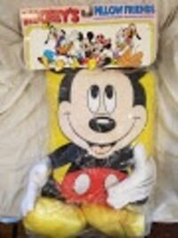 NEW - Vintage Mickey Mouse Pillow