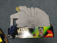 Star Wars The Power of the Force Millennium Falcon carry case box