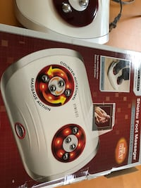 Shiatsu foot massage with heat, excellent condition
