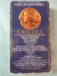 Caligula vhs Baltimore