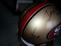 Official Signed Helmet UNIONCITY