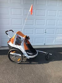 Giant Peapod duo child carrier bike trailer Sterling, 20166