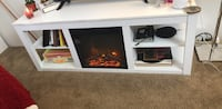 Tv stand with fireplace  Las Vegas, 89104