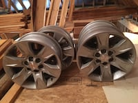 Grey 17inch GMC Canyon rims Madison, 39110