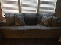 gray fabric 3-seat sofa Rockville, 20850