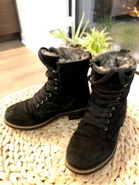 Pair of black suede boots Halifax, B3J 1V3