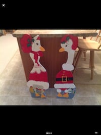 Mr & Mrs Christmas Goose