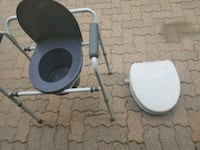 HomeCare Commode and raised toilet seat