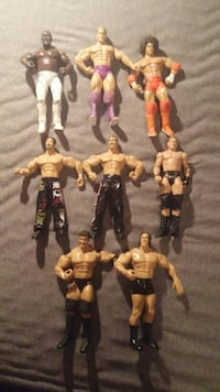 assorted WWE action figure collection Saint Thomas, N5R 1L2