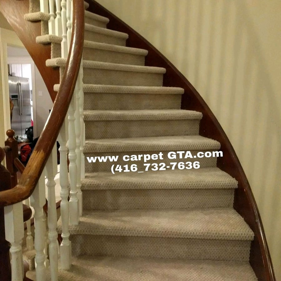 Cap Stairs installation