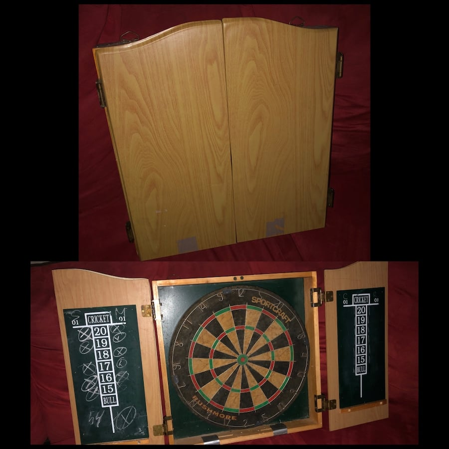 Old fashion dart board