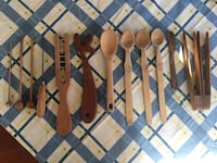 Wooden spoons and miscellaneous wooden cooking utensils... Bryans Road, 20616