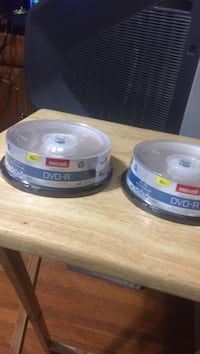 2 packs of DVD-r 25 for both  Edmonton