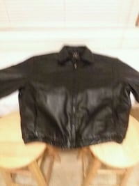 Men's Leather Jacket xlg. Bangor, 18013