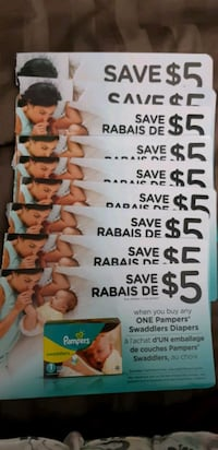 Pampers Diapers Coupons Vaughan, L6A 3K9