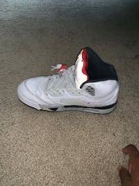 Jordan retro 5s cement  Virginia Beach, 23462