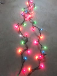 (6 count) 30 feet long christmas light strings