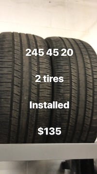 245 45 20 goodyear 80% tread