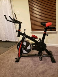 black and red stationary bike Waldorf, 20602