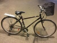 """Peugeot Hybrid Chromoly Medium 18""""/48cm 21 speed with Basket  Real Chromoly Frame, Great working condition.  Comfortable, practical and great quality bike. Made in Canada.  for person 5.4""""-5.9"""""""