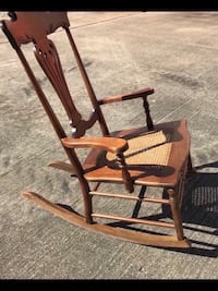 Antique Cane Seat Rocking chair Houston, 77055