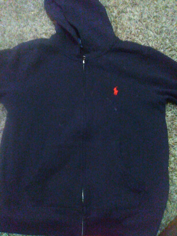 Used Blue Ralph Lauren Polo Zip Up Hoodie For Sale In Mesquite Letgo