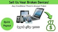 We want your device. SELL IT TODAY! Reston